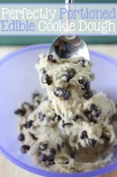 Perfectly Portioned Edible Cookie Dough