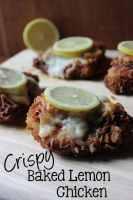 Crispy Baked Lemon Chicken