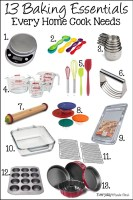 13 Baking Essentials Every Home Cook Needs