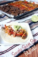 Simple Sheet Pan Fajitas