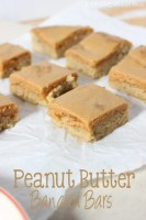 Peanut Butter Banana Bars