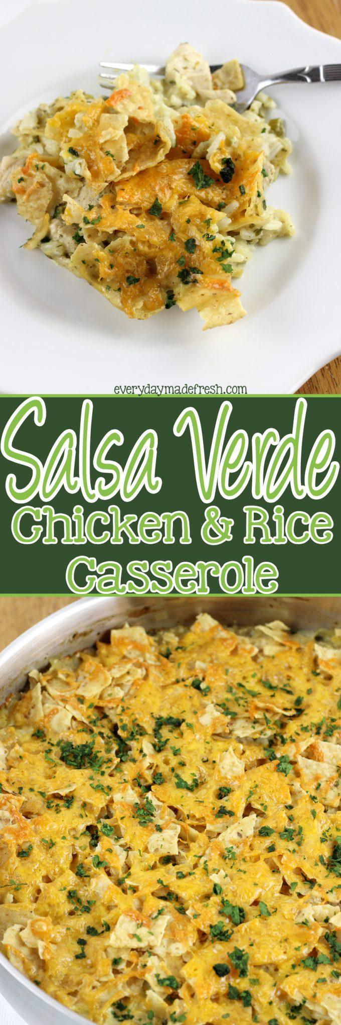 recipe: salsa verde chicken casserole [26]