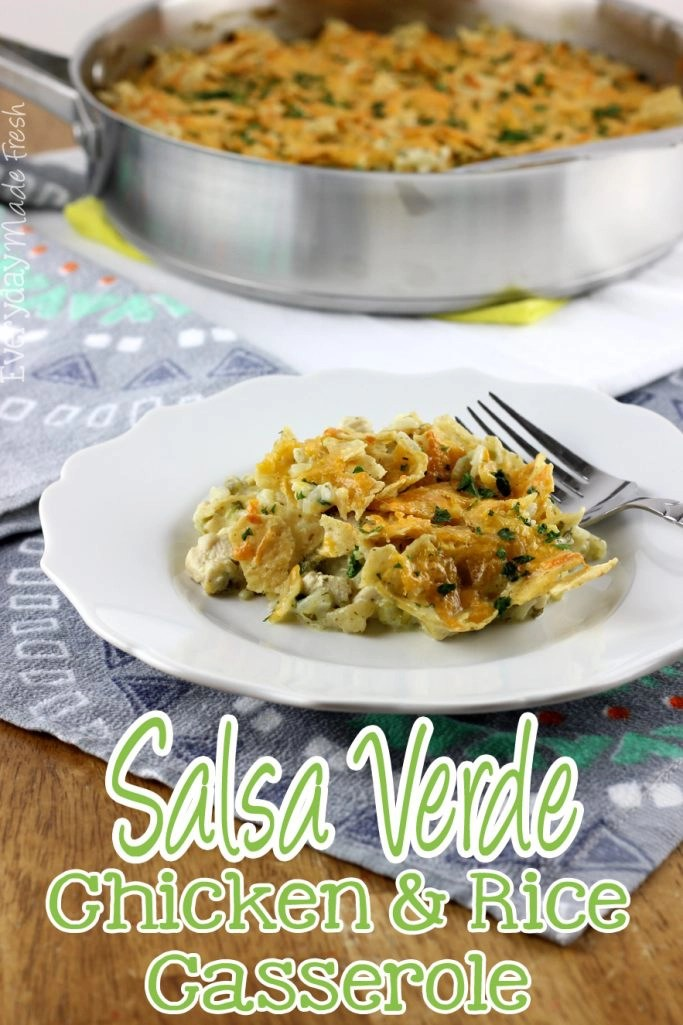 recipe: salsa verde chicken casserole [13]
