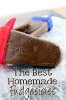 The Best Homemade Fudgesicles