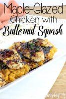 Maple-Glazed Chicken with Butternut Squash