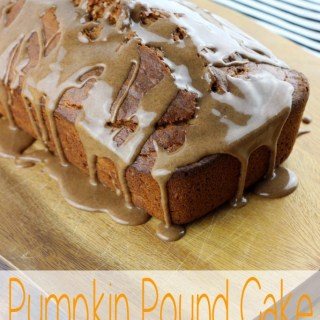 Nothing says fall quite like pumpkin, and this Pumpkin Pound Cake with Spiced Caramel is about to make all your fall dreams come true. | EverydayMadeFresh.com