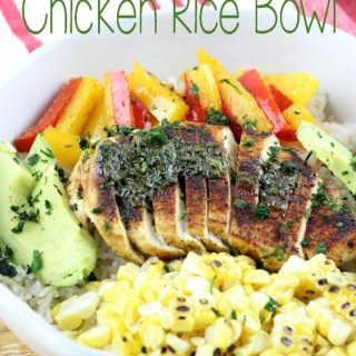Fajita Chicken Rice Bowl