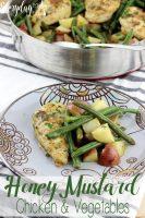 Honey Mustard Chicken and Vegetables