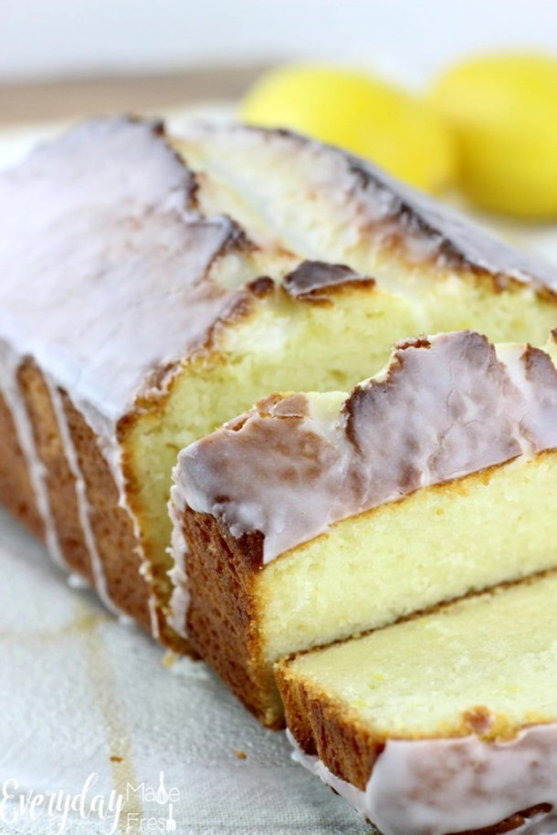 Canola Oil Pound Cake