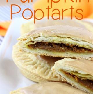 Pumpkin Poptarts