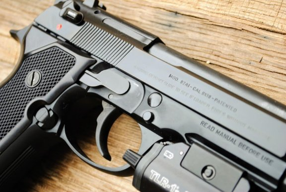 Beretta 92A1 double action and single action pistol
