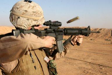 USMC Chicken Wing rifle