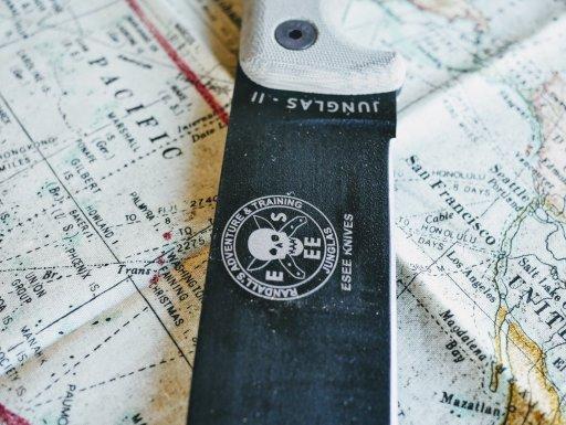 ESEE Junglas II on a map