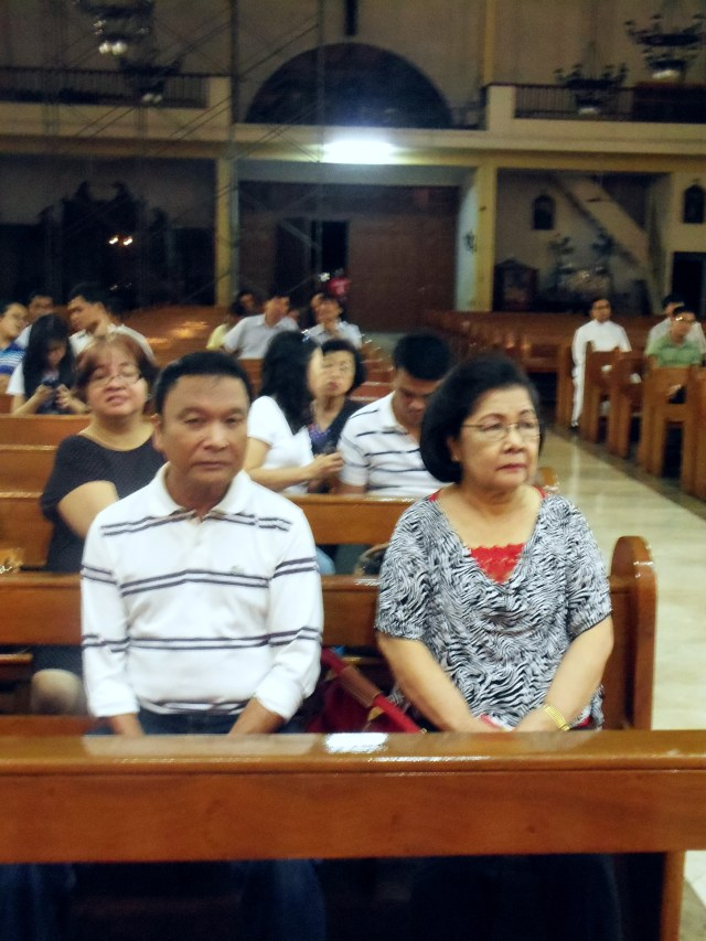 Thank you so much to Nanang Letty, her brother, and their family for helping us take care of finding a place for the viewing, the funeral mass, and all kinds of support, especially the choir. Taos puso pong pasasalamat namin sa inyo at sa inyong mga kaibigan!