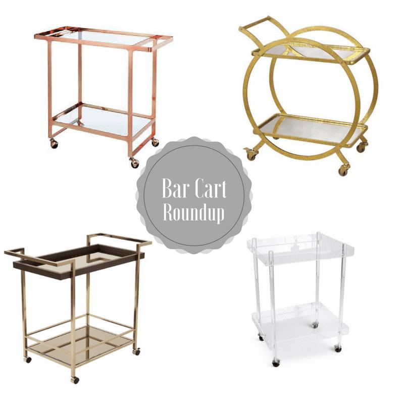 cb2 rose gold bar cart isabella serving cart acrylic bar cart similar asher bar cart - Rose Gold Bar Cart