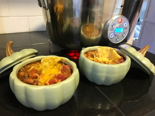 slow cooker pumpkin chili