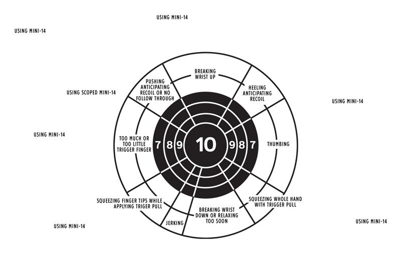 Ruger Mini-14 shooters diagnostic chart