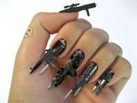 3D Fingernail Firearms