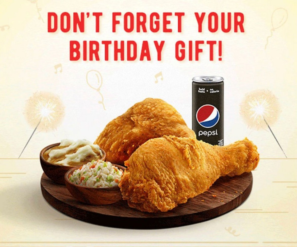 KFC With 2 pc Combo Set for Birthday Baby For FREE - EverydayOnSales.com  News