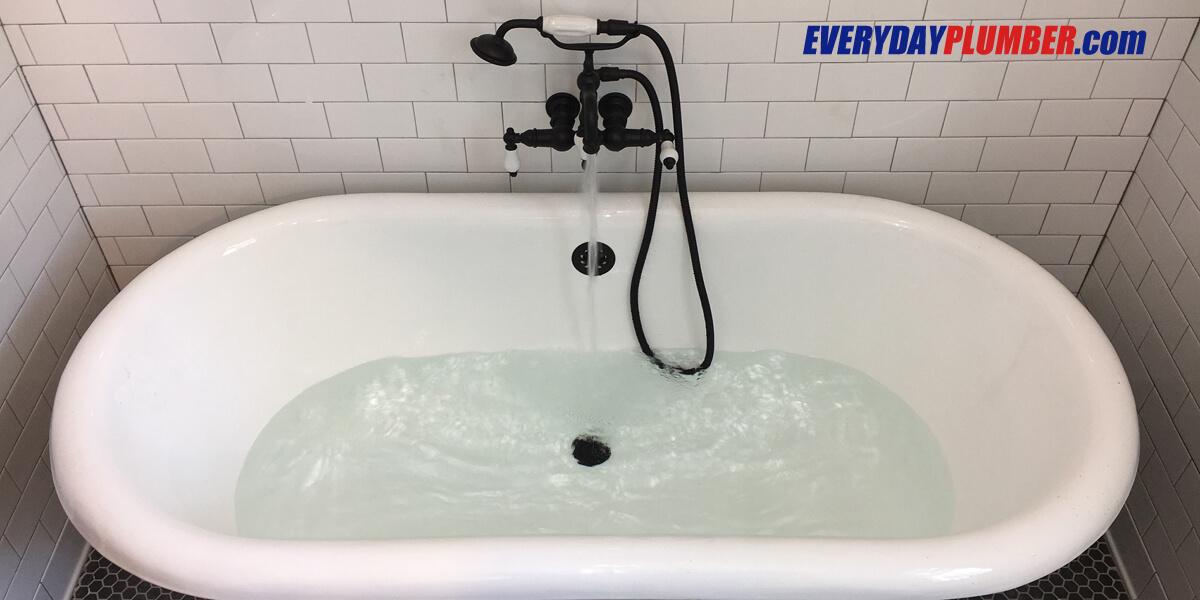 Plumbing Tips  Clogged Bathtub Drains