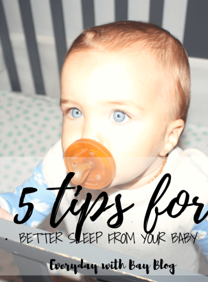 5 Tips for Better Sleep from Your Baby