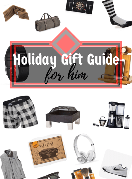 Gift Guide For Men This Holiday Season