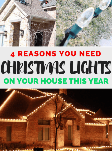 4 Reasons You Need To Put Christmas Lights on Your House