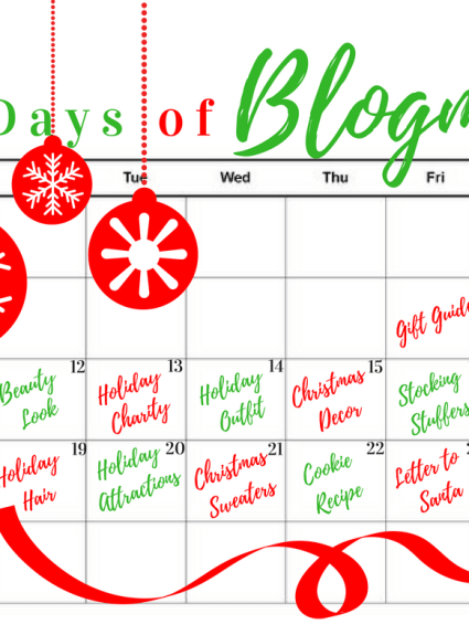 Holiday Attractions + Day 8 of Blogmas