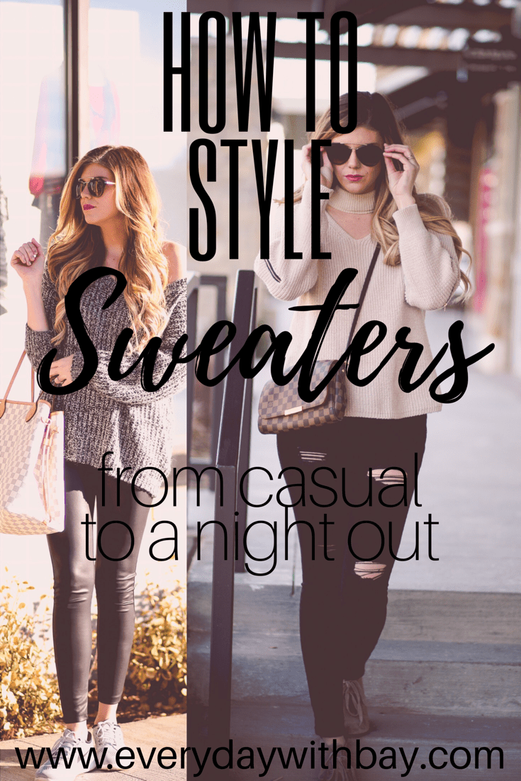 sweaters, blogger, fashion