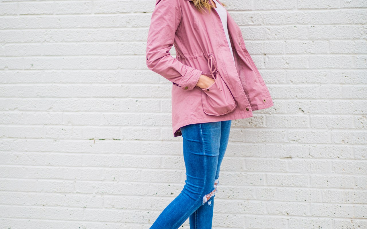 Fall Transitions- Military Jackets // Mom Style Monday