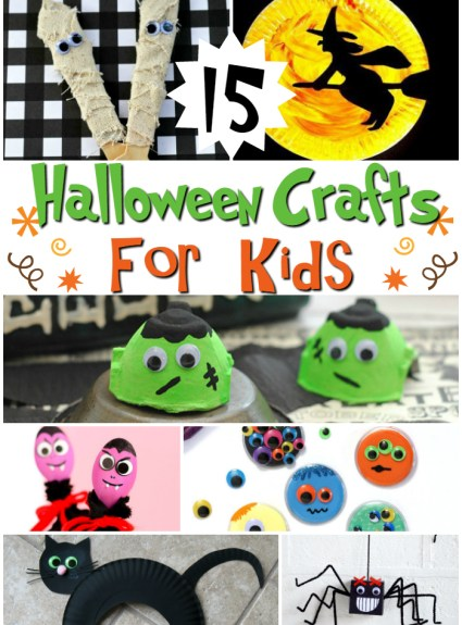 15 Of The BEST Halloween Crafts To Do With Your Children