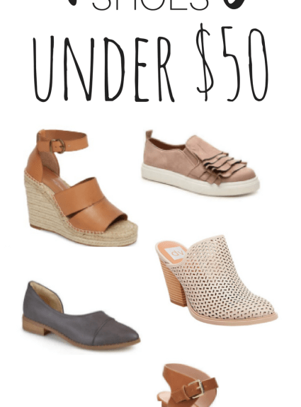 Spring Shoes Under $50