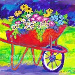Wheelbarrow Bouquet