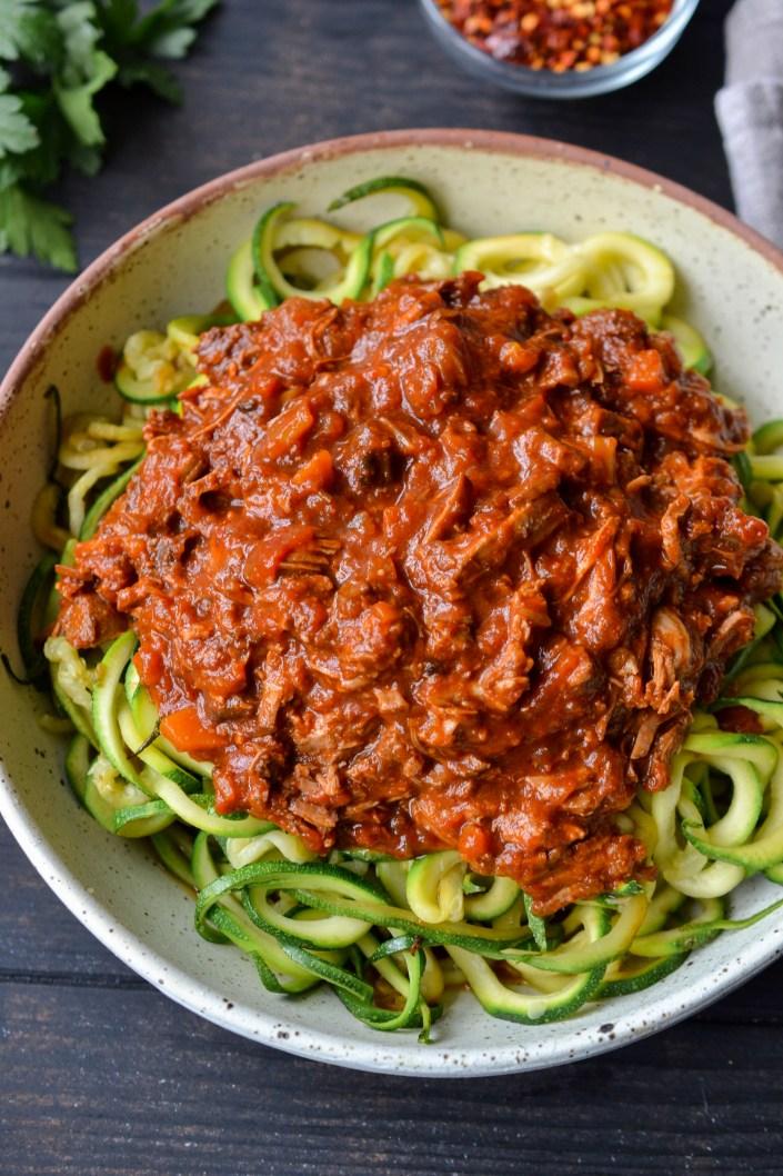 Lamb pasta sauce