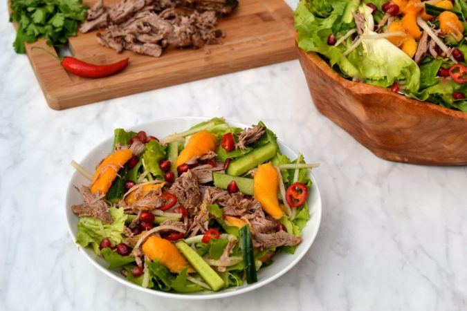 Shredded Duck & Mango Salad
