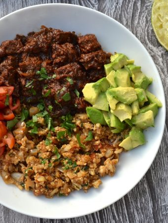Mexican Stewed Beef Bowl | Every Last Bite