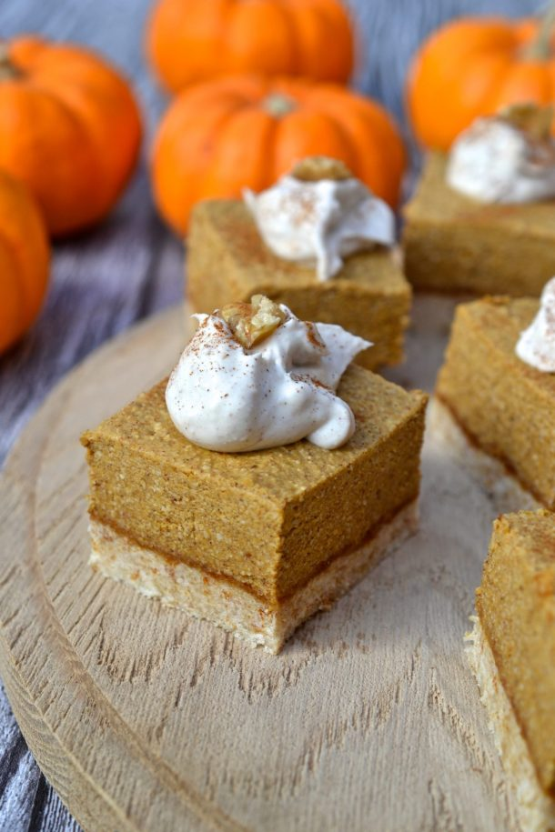 Pumpkin Pie Bars | Every Last Bite
