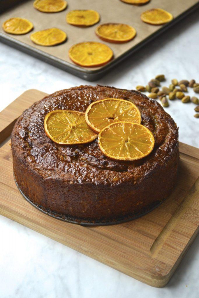 Orange, Pistachio & Almond Cake