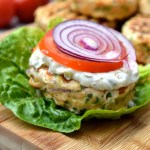 Lemon & Herb Salmon Burgers