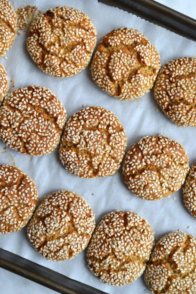 Tahini & Honey Cookies
