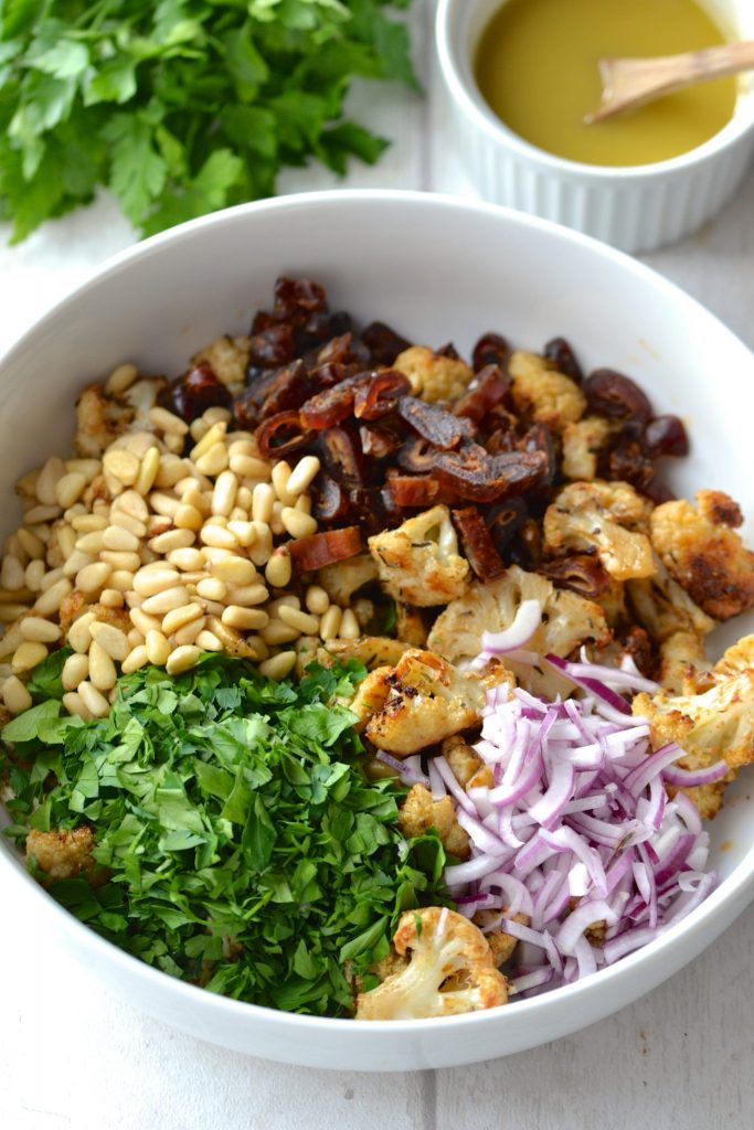 Cauliflower and Date Salad