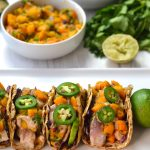 Seared Tuna Tacos with Celery Root Tortillas