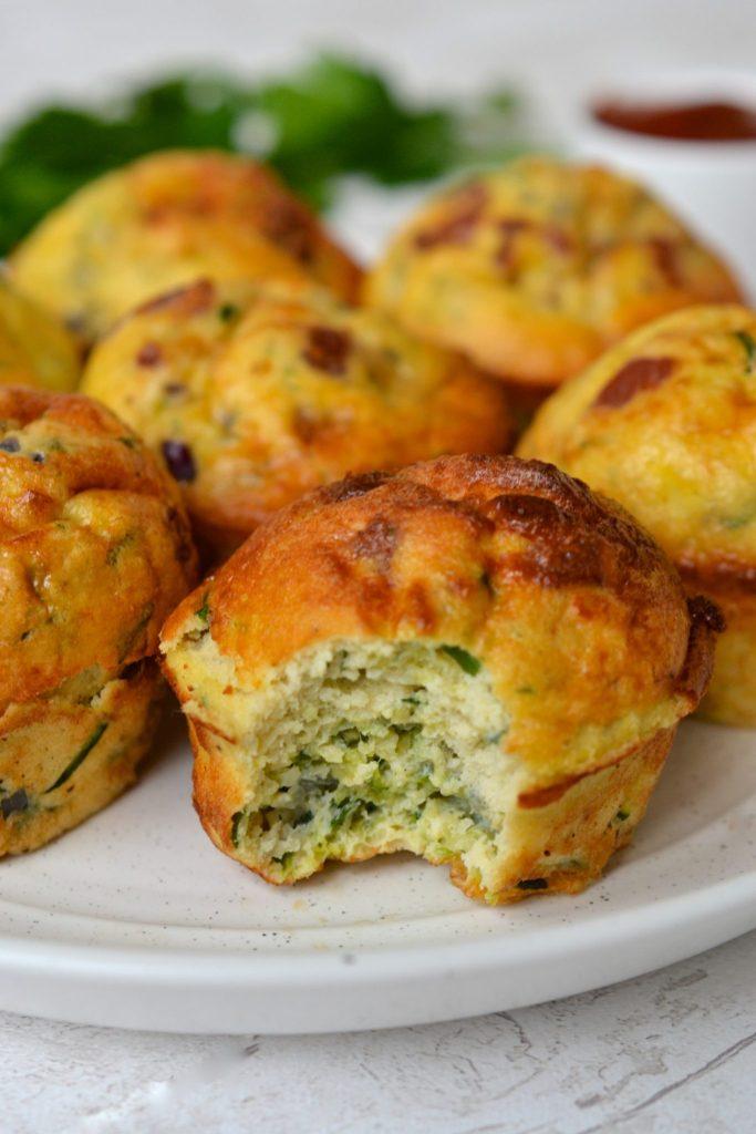 Keto Zucchini Muffins