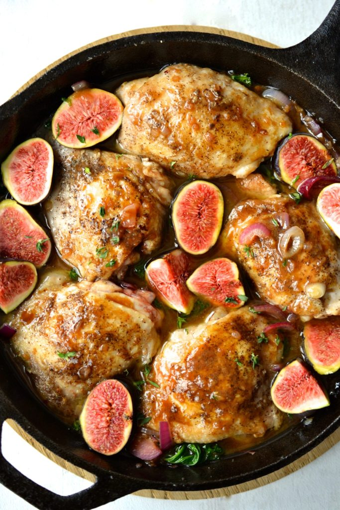 Balsamic Chicken with Figs