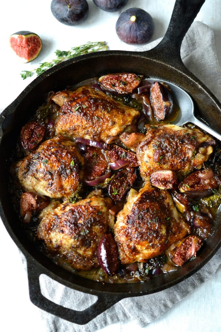 Chicken with Figs