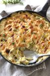 Caramelized Leek, Fennel & Onion Gratin