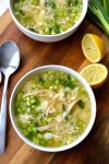 Chicken & Cauliflower Rice Soup