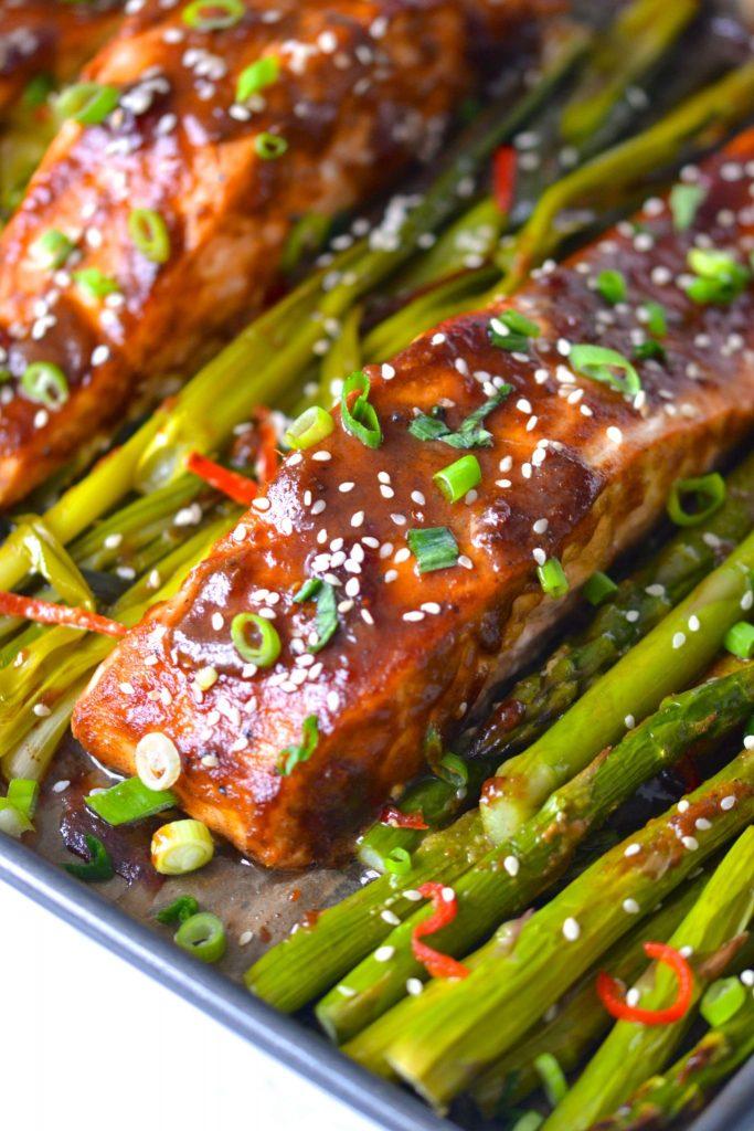 Sheet Pan Teriyaki Salmon