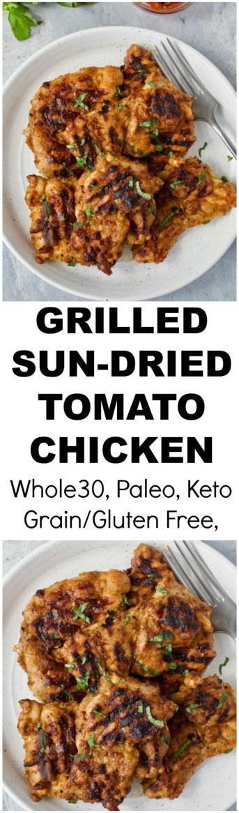 Sun-Dried Tomato Marinated Chicken