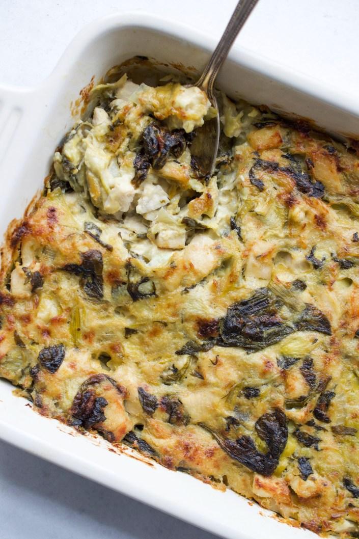 Chicken Spinach Artichoke Dip